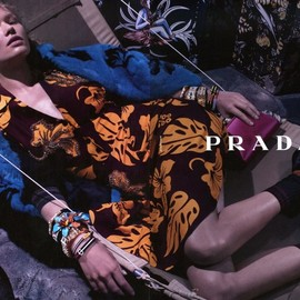 PRADA - Resort 2014 Campaign by Steven Meisel