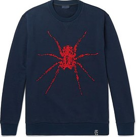 Lanvin - Beaded Loopback Cotton-Jersey Sweatshirt