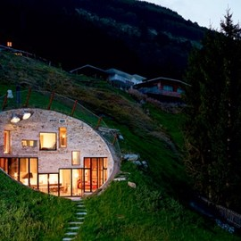 Bjarne Mastenbroek and Christian Müller - Best New Private House: Villa Vals, Vals