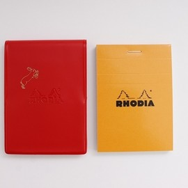 PASS THE BATON - RHODIA No.11 IN COLOR RD/Rabbit