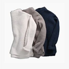 martinique - wool sweater(grey)