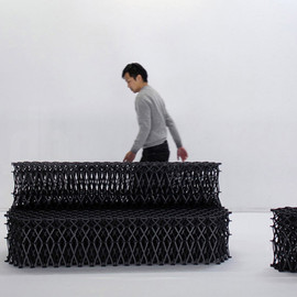 yuya ushida - XXXX_ transformable furniture system