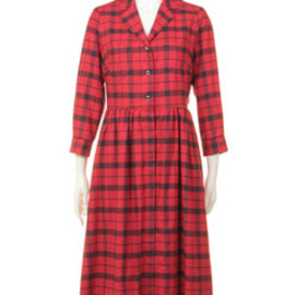 BED&BREAKFAST - Nel Check Dress