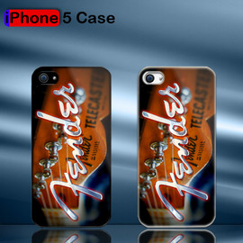 aliluqman - Fender Telecaster Head Headstock Strings Tuners Guitar Custom iPhone 5 Case Cover