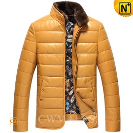 CWMALLS - Reykjavik Custom Quilted Leather Down Jackets CW818003 | CWMALLS.COM