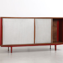 Jean Prouvé - Red Cabinet n° 151, ca. 1952