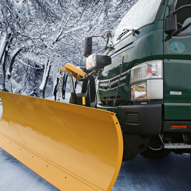 mitsubishi fuso truck and bus corporation - Canter with Snow Plow