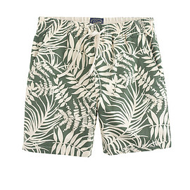J.CREW - DOCK SHORT IN FERN PRINT