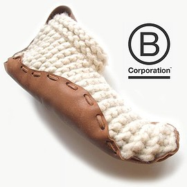 Chilote - House Shoes - Organic Leather & Wool