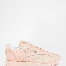 Reebok - CL Coral Leather Trainers