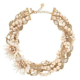 kate spade NEW YORK - MOONLIGHT PEARLS BRIDAL STATEMENT NECKLACE
