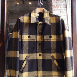 N.HOOLYWOOD - N.HOOLYWOOD COLLECTION LINE CPO CHECK BLOUSON