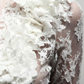 Giambattista Valli - flower white lace