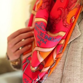HERMES - bright/scarf