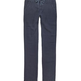 Hartford - Slim-Fit Linen Trousers