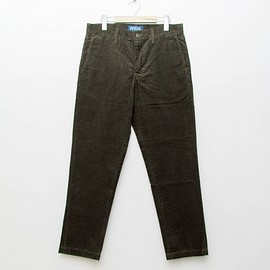 cup and cone - Custom Fit Corduroy Pants - Olive