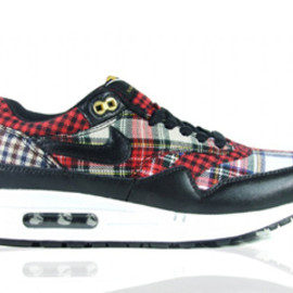 Mens Air Max 1 Black Pilgrim Birch Shoes