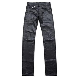 "DIOR HOMME - ""SHARP NOTATION"" COATING DENIM"