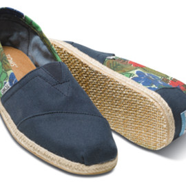 TOMS - Blue Tropical Men's Classics