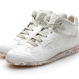Maison Martin Margiela - PAINT HI-TOP SNEAKERS