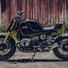 Onehandmade Customs - Hot Chocolate: A BMW custom bike inspired by a Snickers bar (yes, really)
