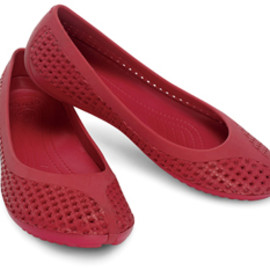 crocs - crosmesh ballet flat