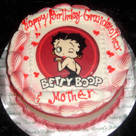 Roeser's Bakery - Betty Boop cake