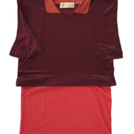 TOGA - Plating Jersey N/S  (dark red)
