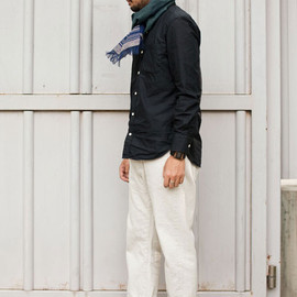 Ordinary fits - Ordinary fits 5PKT CROPPED DENIM UNBLEACH