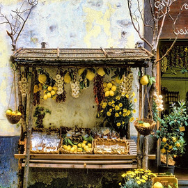 Lemon Stand Sorrento Photograph  - Lemon Stand Sorrento Fine Art Print