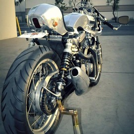 1957 Triumph 650 custom – The Needle