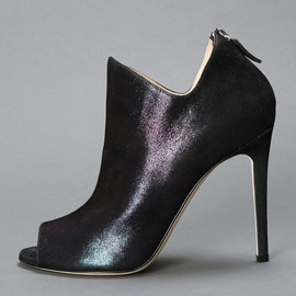 ALEJANDRO INGELMO - ANKLE BOOT WITH OPEN TOE