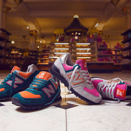 New Balance - Made in USA 574 Harrods Exclusive Pack
