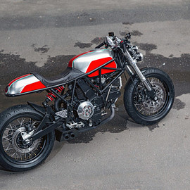 Birdie Customs of Moscow - Ducati 900 ss i.e.