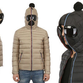LUISAVIAROMA - AI RIDERS ON THE STORM -  Matt Nylon Hooded Down Jacket