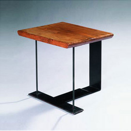 Pierre Chareau - Metal and Ebony Stool