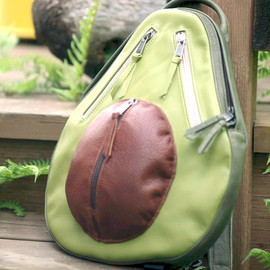 AveryStudio - Leather Avocado Backpack