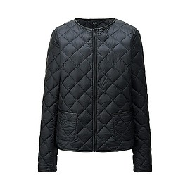 UNIQLO - Ultra Light Down Collarless Jacket Black
