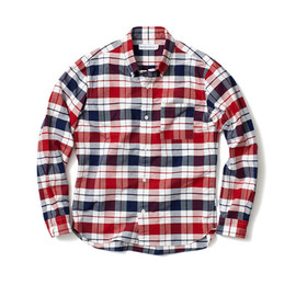 HEAD PORTER PLUS - CHECK OXFORD SHIRT