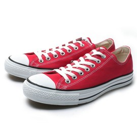 Converse - Canvas All Star OX : Red