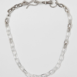 Maison Martin Margiela - 11 Brass and Plexi Necklace