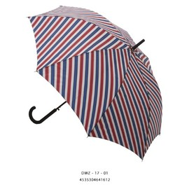 Danke - Umbrella 【STRIPE BLUE×RED】