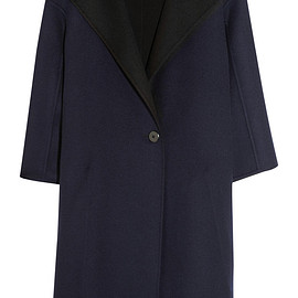 JIL SANDER - Oversized reversible double-faced cashmere coat