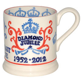 Emma Bridgewater -  Diamond Jubilee 1/2 Pint Mug