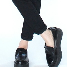 Unsqueaky - Platform Loafers~12-13AW~