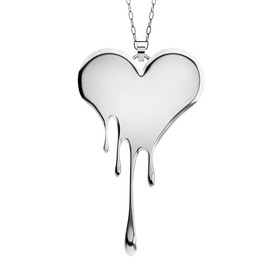 LUSASUL - Bloody Heart necklace