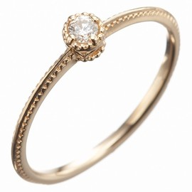 agete FIRST - K10 diamond ring