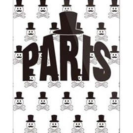 SECOND SKIN - Code;C 「PARIS」 ホワイト (クリア) / for iPhone 5/au