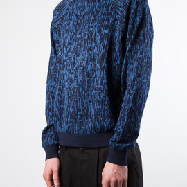 Patrik Ervell - Patrik Ervell Static Sweater - Dark Blue