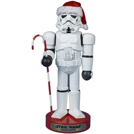 Sta rWars - Stormtrooper with Candy Cane Nutcracker